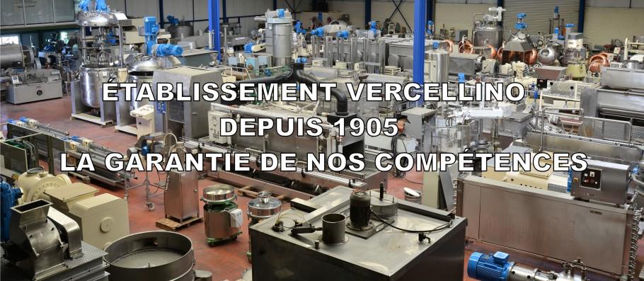 ÉTABLISSEMENT VERCELLINO DEPUIS 1905 LA GARANTIE DE NOS COMPÉTENCES